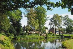 Nijmegen - Neerbosch-Oost, op de achtergrond zie je de Kinderboerderij 't Boerke.