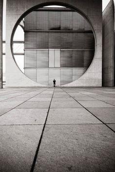 the pensieren circle berlin, germany. via visualacuity the pensieren circle berlin, germany. via visualacuity A As Architecture, Concrete Architecture, Contemporary Architecture, Brutalist, White Photography, Photography Ideas, Germany Photography, Photography Accessories, Abstract Photography