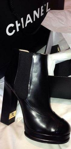 Chanel Booties LBV ♥✤ | KeepSmiling | BeStayClassy