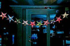 Items similar to Paper Star Lantern String Lights; Teen on Etsy Paper Star Lanterns, Lantern String Lights, Boho Lighting, Accent Lighting, Girls Bedroom, Bedroom Decor, Boho Bedding, Reception Decorations, Yard Decorations