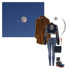 """""""Mirar el cielo."""" by tanenina ❤ liked on Polyvore featuring Free People, 7 For All Mankind, JIRI KALFAR, Rebecca Minkoff, Federica Tosi and Max Factor"""