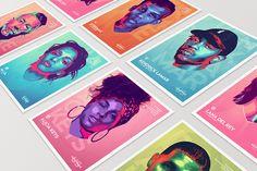 M.I.A, Macklemore & andere Musiker zieren diese farbenfrohe Posterserie  Wenn es um Poster aller Art geht, ist Tarek Okbir aus Belgien der richtige Mann. DerGrafikdesigner ausLüttich hat sich nun zur Abwechslung mal ...