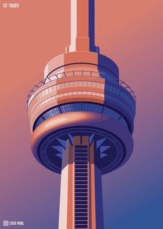 Observation Towers - Toronto Art Print by Coen Pohl | Society6