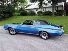 Stratomist Blue 1971 Buick GSX Maintenance of old vehicles: the material for new cogs/casters/gears/pads could be cast polyamide which I (Cast polyamide) can produce