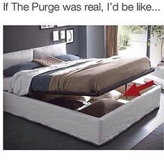 If the purge was real