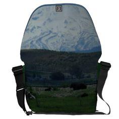 Mount Shasta and Friends SDL Bag 2 Messenger Bags