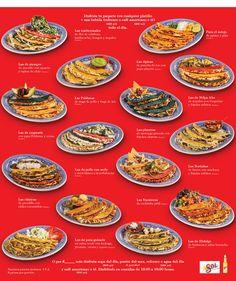 Sanborns Festival de la quesadilla