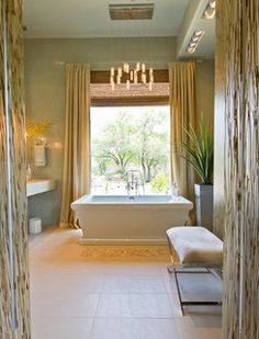 Spa like feel bathroom!
