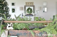 Christmas Housewalk 2012- Stop #13 - City Farmhouse