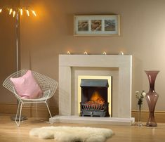 Cortina 48-In x 42-In Wood Fireplace Mantel Surround | Fireplace ...