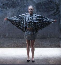 Matija Cop's Experimental Fashions are Made of Interlocking Foam