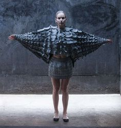 Matija Cop's Experimental Fashions are Made of Interlocking Foam