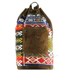 Shops, Marrakech, Strand, Sling Backpack, Backpacks, Bags, Beach, Soft Leather, Sachets