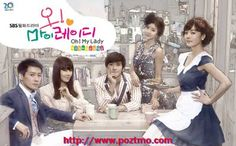 Oh! My Lady (Hangul: 오! 마이 레이디) is a romance comedy TV Drama in Seoul Korea under SBS Network. It was first aired on March 22, 2010. It is a romantic comedy about a top star who finds himself living with his manager, a 35 year old woman who is trying to earn money to get custody of her child.