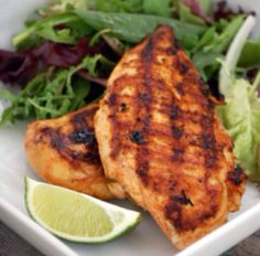Margarita Chicken - This fresh and light dish, flavored with limes, chile and a splash of tequila, is perfect for summer entertaining. The chicken is wonderful served Barbecue Recipes, Grilling Recipes, Paleo Recipes, Mexican Food Recipes, Great Recipes, Dinner Recipes, Cooking Recipes, Favorite Recipes, Recipe Ideas