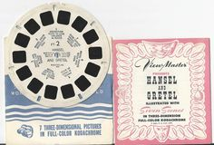 Hansel and Gretel View-Master Reel and Booklet by COLLECTORSCENTER on Etsy