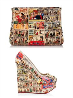 Charlotte Olympia & Archie Comics Resort 2014 collection - I would have loved these in high school....
