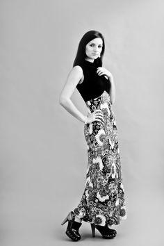 Cavortress Vintage Dress:  no label