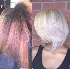 Amazing color color correction by @hairbychantellen - http://community.blackhairinformation.com/hairstyle-gallery/natural-hairstyles/amazing-color-color-correction-hairbychantellen/