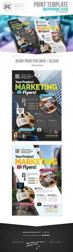 World Travel Tourism Marketing Flyer Template  Marketing Flyers