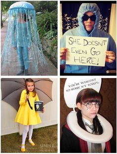15 Fun, Unique DIY Halloween Costumes No One Else Will Think Of