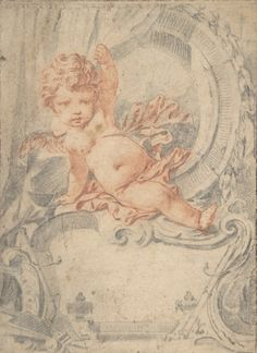 Cupid & cartouche