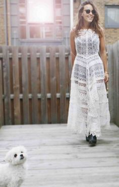 Chic of the Week: Emma's Elegant Lace
