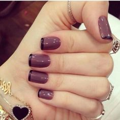 Gel Nail Designs You Should Try Out – Your Beautiful Nails Beautiful Nail Art, Gorgeous Nails, Love Nails, Fun Nails, Pretty Nails, French Tip Nail Designs, French Tip Nails, Gel Nail Designs, Luxury Nails