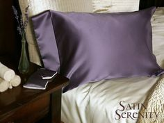 Luxurious Anti-Aging Satin Pillowcases.