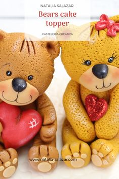 Rice Krispies, Rice Krispie Treats, Sugar Paste, Bear Cakes, Safe Food, Making Out, Cake Toppers, Fondant, My Etsy Shop