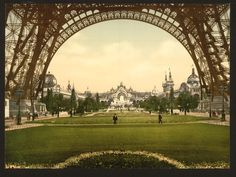 Champs de Mars, Exposition Universal, 1900. Paris, France