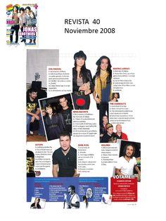#Colaboraciones con la #Revista 40. Noviembre 2008.
