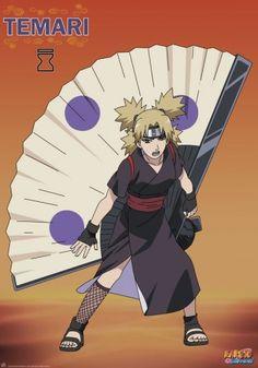 Poster Naruto Shippuden Temari