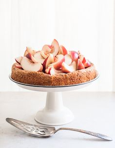 Nectarine Golden Cake from Cup4cup Week on Minimally Invasive
