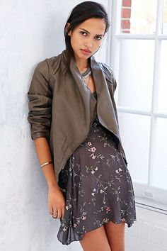 BB Dakota Ellif Faux Leather Jacket