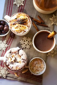 Tired of plain old hot chocolate. Crazy idea right? Well, I have three decadent hot chocolate's for you. I have a favorite but I will let you decided for yourself. It's officially cold everywhere. It took awhile but the cold is here in full force and we are all looking to stay warm. Everyone except Florida,...