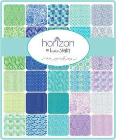 Horizon Charm Squares by Kate Spain for Moda by PatchworkSampler2