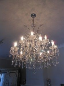 A Crystal Chandelier