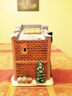 #realestate #christmasvillage #ceramicpainting