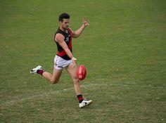 Saturday April 15 Sandringham v Essendon Trevor Barker Oval, 2pm - Jerrett with the easy goal