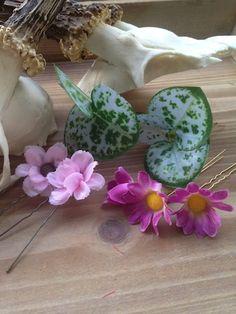 """Blumen-Set """"Rosa"""" ❤️ Tracht ❤️ Hochsteckfrisur ❤️ Flechten ❤️ Zopf ❤️ by www.riemen-s-chneider.de"""
