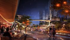 SOM : Chongqing Tian'An Ludao New District Concept Master Plan