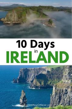 Heading to the Emerald Isle? This is a detailed 10 day itinerary, round-trip from Dublin with a visit to Dingle, Cliffs of Mohr and the stunning west coast and so much more. Plus, where to stay. Ireland travel itinerary | Ireland travel tips | things to do in Ireland | Ireland bucket list Ireland Travel Guide, Europe Travel Tips, Traveling To Ireland, England Ireland, Dublin Ireland, Hawaii Pictures, Road Trip, Hawaii Things To Do, Ireland Landscape