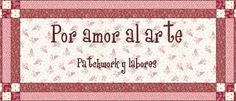 """POR AMOR AL ARTE-Vero Silvestre-Patchwork y Labores - """"Por Amor al Arte"""", tienda de Vero Silvestre en Onil (Alicante) de patchwork y labores"""