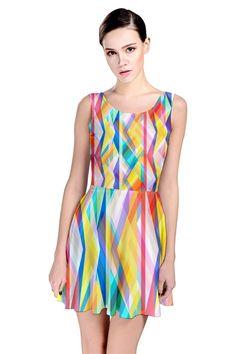 Triangle Rhytm_MirandaMol Skater Dress #pinkcess #mirandamol #fashion #cool #dress #summer #pinkcess #pinkcessfashion #pnkx