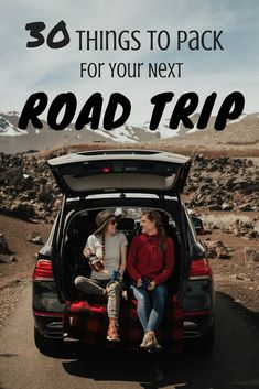 Planning a cross-country journey but don't know where to start? Here are road trip essentials you need to get the most out of your trip on the open road! Roadtrip 30 Necessary Road Trip Essentials You Need To Be Packing Road Trip Checklist, Road Trip Packing List, Road Trip Games, Us Road Trip, Road Trip Essentials, Road Trip With Kids, Family Road Trips, Family Travel, Packing Lists