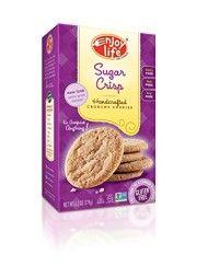 Enjoy Life Crunchy Cookies ~ Sugar Crisp (Join Allergence to see how Sugar Crisp, Enjoy Life Foods, Gluten Free Sugar Cookies, Gourmet Recipes, Dairy Free, Healthy Eating, Snacks, Join, Sweets