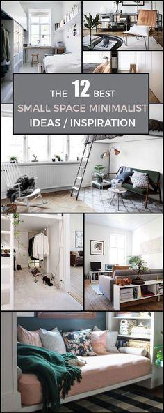 12 SMALL SPACE MINIMALIST IDEAS / INSPIRATION | Scandinavian Interior Design | #scandinavian #interior