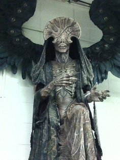 Angel of Death     Created by Spectral Motion, for the movie Hellboy II.