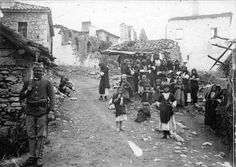 Piksos Florina May Culture, Old Photos, World War, Greece, The Past, Painting, 1914 1918, Orient, People